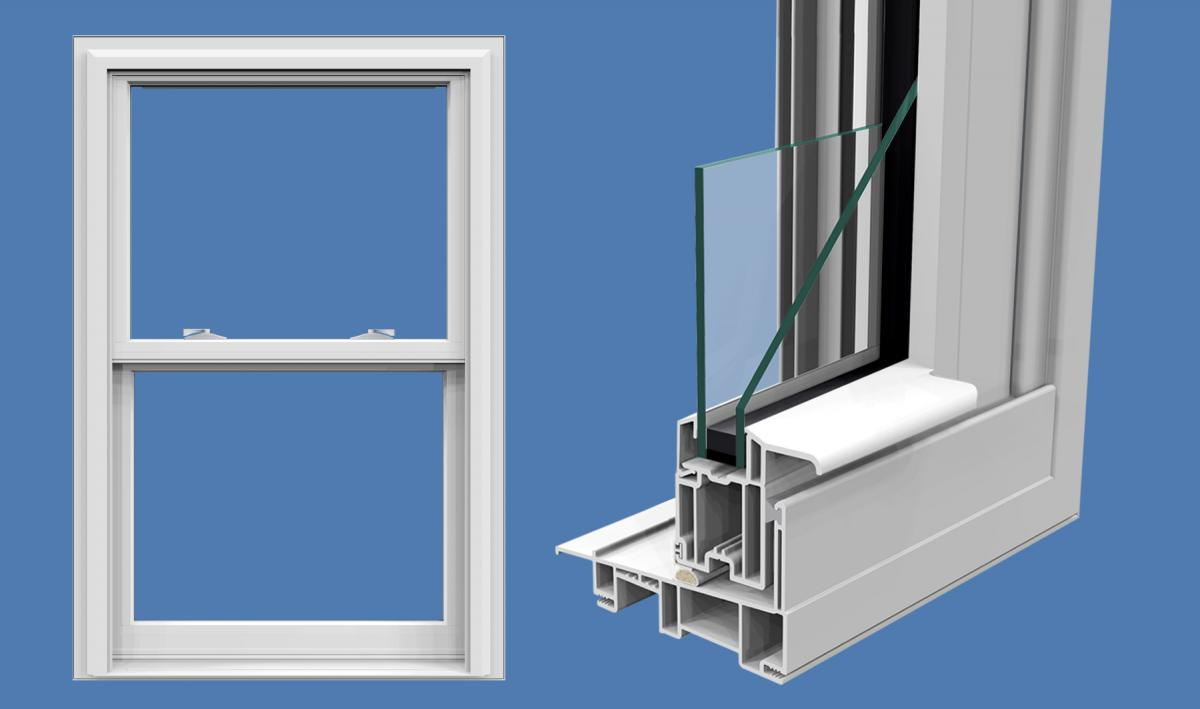 Crusader Elite Double Hung Northeast Building Products