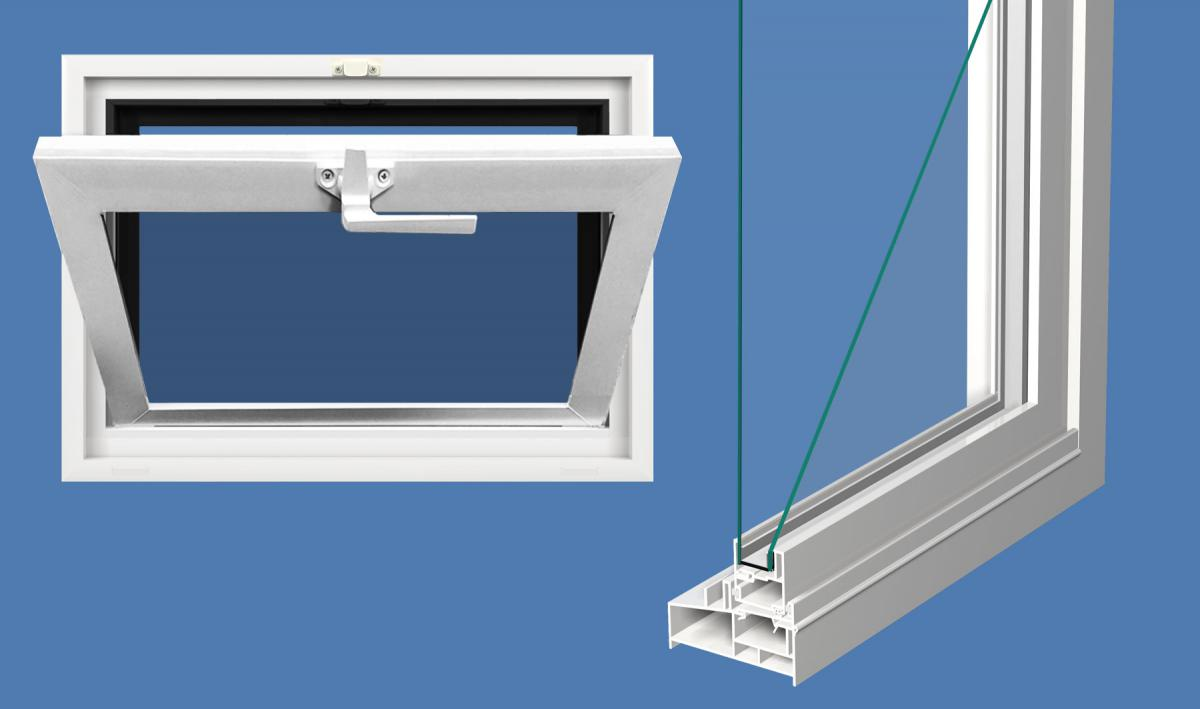 Pro Series Hopper Window Northeast Building Products